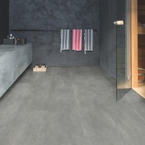 QUICK-STEP Вініл клей  AMGP40051 Dark grey concrete. Фото 2