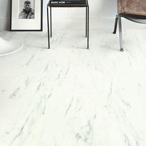 QUICK-STEP Вініл клей  AMGP40136 Ambient Glue Marble Carrara White. Фото 2