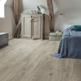 QUICK-STEP Вініл клей  PUGP40106 Cotton oak grey with saw cuts. Фото 2